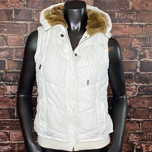 American Eagle Hooded Puffer Vest - Size SP